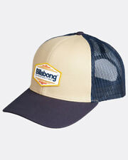 BILLABONG MENS BASEBALL CAP.NEW WALLED TRUCKER CURVED PEAK NAVY MESH HAT 8W 1 33