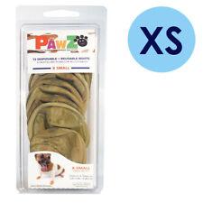 PAWZ Rubber Dog Boots XS Camo 12 Per Pack Disposable Reusable Waterproof Shoes