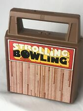 Vintage Tomy Strolling Bowling Ball Works Missing Ball