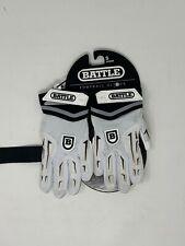 Battle Youth Hybrid Football Gloves