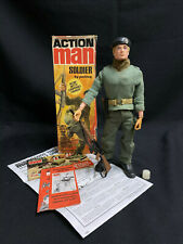 VINTAGE ACTION MAN - BOXED SOLDIER with Gripping Hands