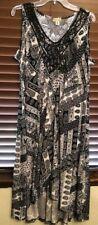 Women's World Unity Multi Color Pullover Dress.  Size XL.  PRETTY!