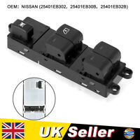 Electric Window Switch Fit For Nissan Navara 25401EB302 Right Drive Traffic UK
