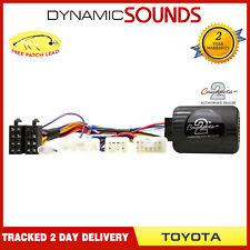 CTSTY002 Controles Del Volante Adaptador para Toyota Yaris RAV4 Prado Verso