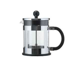 Bodum Kenya French Press Coffee Maker, 17 Ounce, Chrome