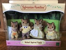 Calico Critters Sylvanian Families Walnut Squirrel Family EPOCH #4172 US Seller