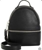 Steve Madden Terry Crossbody - Black/Silver Womens Handbags