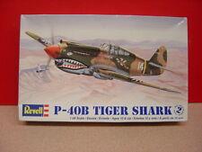 2009 Revell P-40B TIGER SHARK 1:48 Scale Unbuilt Model