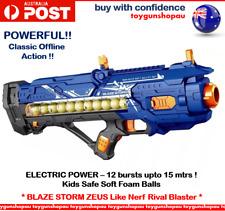 TOY GUN HOT XMAS BOYS Toy Gun Foam Ball Rival Zeus Apollo Battery Powered Gun