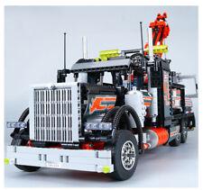 NEW 1877Pcs Technic Pneumatic Tow Truck Model Building Kits Blocks Bricks Toy