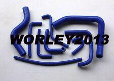 Blue silicone radiator heater hose for Pajero NH NJ V6 3.0 6G72 1991-1996