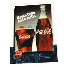 Coca-Cola Coke Score Board Sammelkarte Karte USA 1995 #32 - Flasche Glas