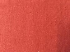 Curtain Sample Rem Fabric Blind Cushion Craft 140x93cm Rusty Red Brown