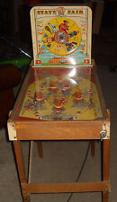 Rare! Vtg Superior Pinball Toy Machine State Fair Cohn Electric 1950's?
