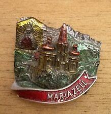 Vintage Oktoberfest Hiking German Bavarian Ski Hat Pin MARIAZELL