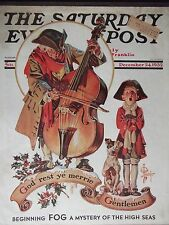 Dec 24, 1932 Saturday Evening Post J. C. Leyendecker Cover Only