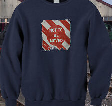 Live steam model railways trains BR signs sweatshirt