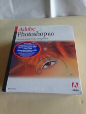 100% Genuine New: Adobe PhotoShop 6.0 Full Version for Mac: OS 9.0 or 8.6, 8.5