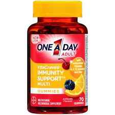 One-A-Day VitaCraves Immunity Support Multivitamin Gummies 70 ea (Pack of 2)