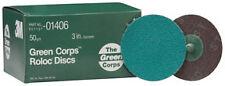 "3M 1406 - Green Corpsa?? Roloca?? Disc 01406 3"" 50YF 25 discs/bx"