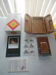 Vintage Polaroid SX-70  Land Camera & Original Box & Manual Instructions