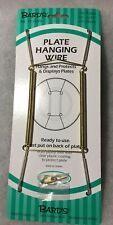 """NEW Bard's Plate Hanging Wire For Plates 10"""" To 14"""" - No. 48-0040"""