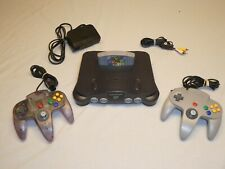 Nintendo 64 Charcoal Grey Bundle