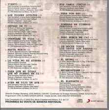 rare rock CD 90's 80's CAIFANES viento DETRAS DE TI ayer me dijo un ave ANIMAL