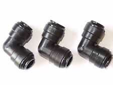 12mm Push Fit Elbow (3 Pack) quality pipe connector Caravan Motorhome.