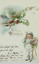 """""""Weihnachten, Engel, Monokel"""" 1899  ♥ (12190)"""