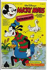 Micky Maus Nr.25 vom 19.6.1976 mit Extrablatt, Schnippecke - Z1-2 Comicheft