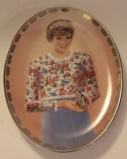"Princess Diana Collector Plate by Bradford Exchange ""A True Princess"" Limited Ed"