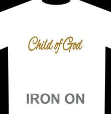Child of God Iron-On Heat Transfer Vinyl