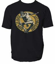 Camiseta de skate nacido Regalo Divertido Patines Patinaje discoteca patinador S-3XL