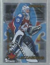 1997-98 Donruss Canadian Ice Les Gardiens #1 Patrick Roy 1156/1500 (ref37626)