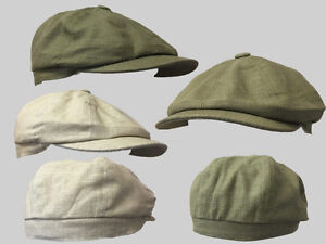 Tommy,Shelby olive green 8 panel bakerboy,newsboy,peaky blinder 1920s summer