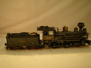 On30 -   4-4-0  Steam Logging Locomotive - DCC / Sound - custom weathered