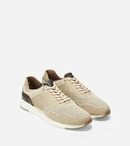 Cole Haan Grandpro Running Sneaker With Stitchlite In Sand Brown | Size 7.5