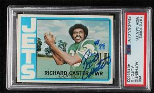 1972 Topps #68 Rich Caster PSA Authentic PSA/DNA Certified Auto Rookie RC