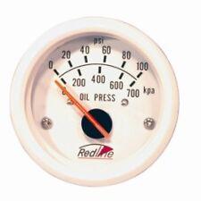 Redline 52mm Oil Pressure Gauge With Sender 0-100PSI/700KPA Marine/Automotive
