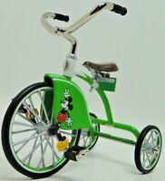 Tricycle Pedal Car Mickey Mouse Disney Collector Model Metal Toy READ DESCRIPTIO