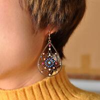 Women Jewelry Earrings Beads Boho Vintage Teardrop Dangle Drop Earring