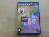 EYE TOY - GROOVE PS2 (PLAYSTATION 2) GAME DVD-ROM PEGI 3 UK PAL EDITION