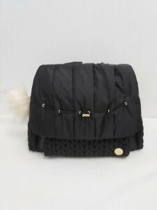 Happ Brand Levy Diaper Bag Backpack Black