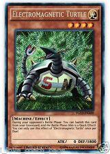Electromagnetic Turtle YGLD-1st (Mint ) YUGIOH Secret Rare Trap Cards