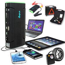 Car Jump Starter Power Bank Flat Tire Pump Cellphone Tablet Laptop Power Source
