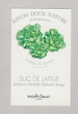 Carte à parfumer - perfume card  - Savon doux Roger & Gallet r