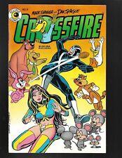 Crossifre #8 Eclipse Comics 1985 VF Mark Evanier & Dan Spiegle