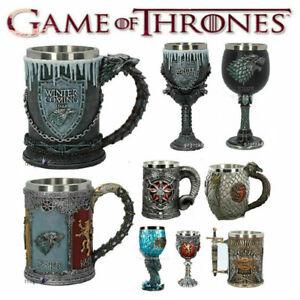 Game of Thrones Mug Goblet Resin 3D Beer Tankard Coffee Wine Cup Mugs Gift