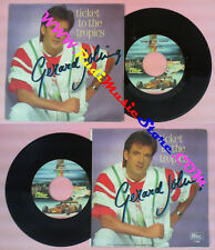 LP 45 7'' GERARD JOLING Ticket to the tropics Crying 1986 italy no cd mc dvd *